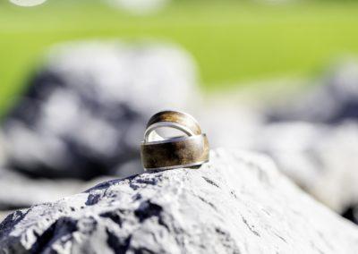 Ringe auf Stein
